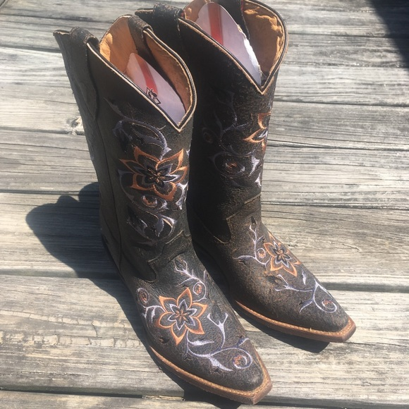Rocky Shoes - Brand New Rocky Leather Cowgirl Boots